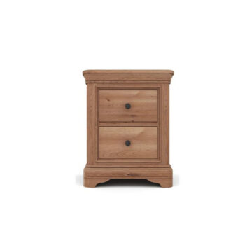 Vermont Dark Oak Bedside Locker