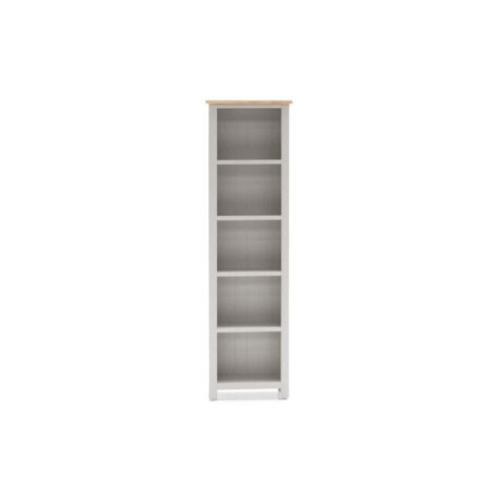 Glendale Grey Oak Slim Bookcase