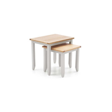 Glendale Grey Oak Nest of Tables