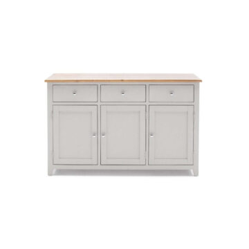 Glendale Large Grey Sideboard