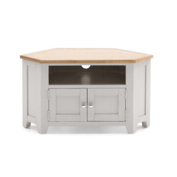 Grey Corner TV Unit