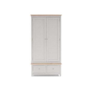 Glendale Grey 2 Door Wardrobe