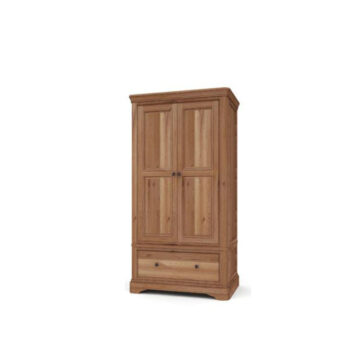Vermont Dark oak Wardrobe - 2 door