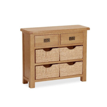 Darwin Small Sideboard with Baskets