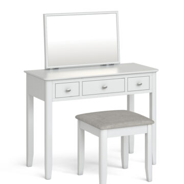 Fern white dressing table