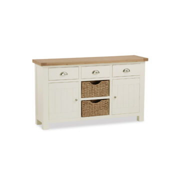 Finsbury Large Sideboard with Baskets