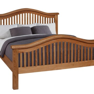 Westbury Curved Oak Bed
