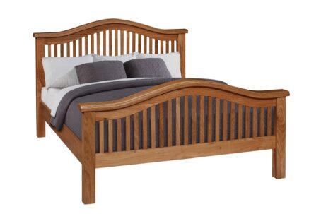 Westbury Curved Oak Bed