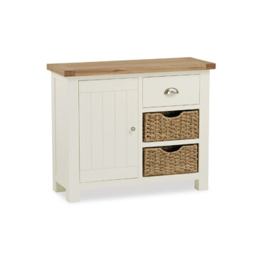 Finsbury Small Sideboard with Baskets
