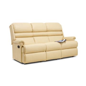 Olivia Three Seater Reclining Sofa Leather