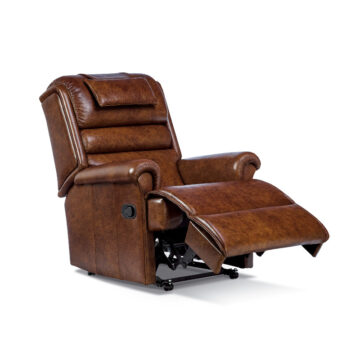 Olivia Standard Reclining Armchair Leather