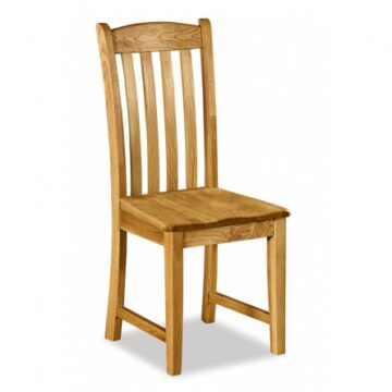 Darwin Solid Seat Slat Back Dining Chair