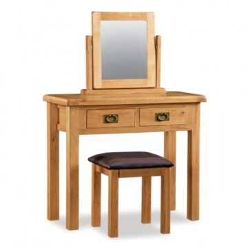 Darwin Oak Dressing Table