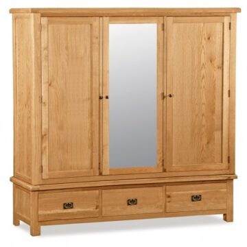 Darwin Large Triple Wardrobe