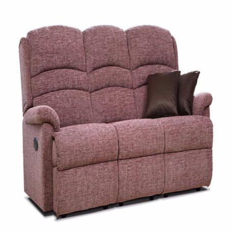 Olivia Fixed Three Seater Fabric