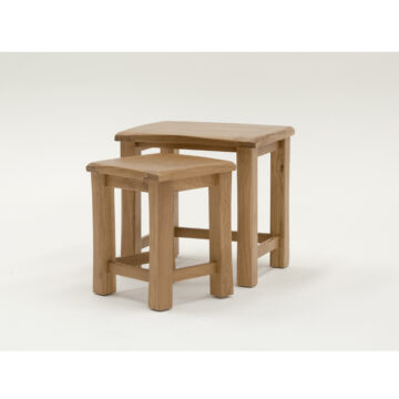 Montrose White Oak nest of Tables