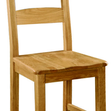 Darwin Solid Seat Ladder Back Dining Chair