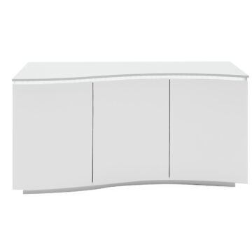 Lazio Sideboard - White with LED on