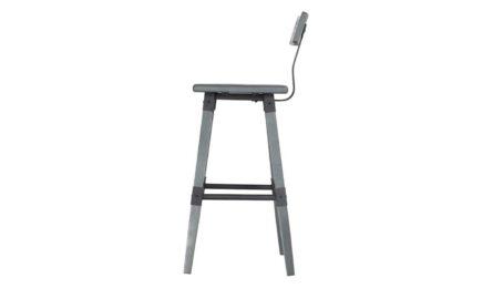 Barrow Grey Bar Chair Side
