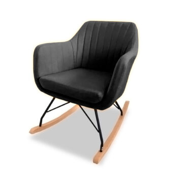 Cotter Rocking Chair - Charcoal