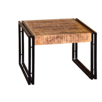 Delta Rustic Lamp Table