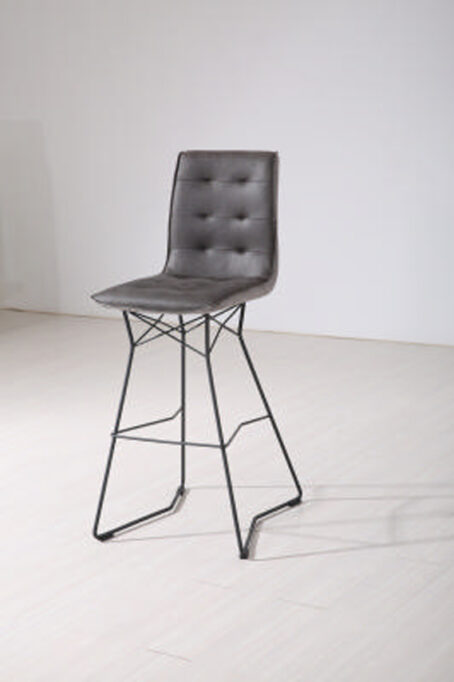 Grey Dina Bar Chair
