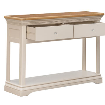 Dorset Cream Oak Console Table Console Table