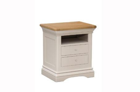 Dorset Cream Oak Bedside Table