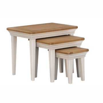 Dorset Cream Oak Nest of Tables
