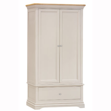Dorset Cream Oak Wardrobe