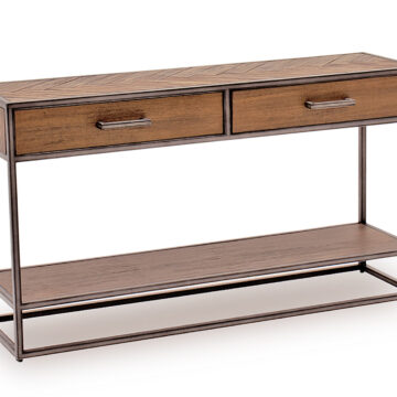 Ethan Urban Console Table - Light Brown