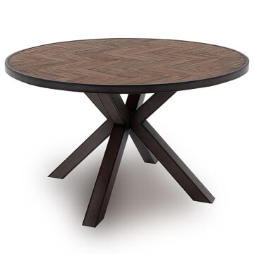 Ethan Round Contemporary Dining Table