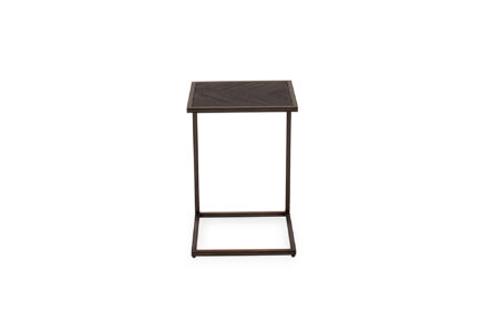 Ethan Urban Drinks Table - Dark Brown - Front