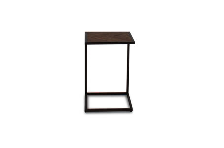 Ethan Urban Drinks Table - Light Brown - Front view