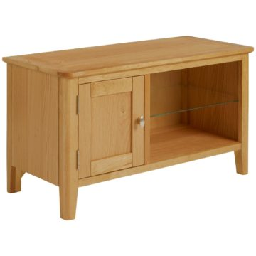 Fern Small Oak TV Unit
