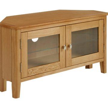 Fern Oak Corner TV Unit