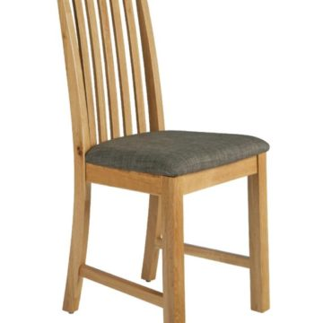 Fern Vertical Slatted Dining Chair