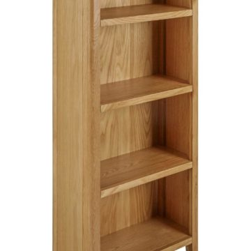 Fern Slim Oak Bookcase