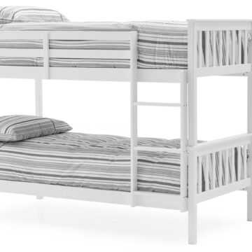 Jaylam Bunk Bed White - Single