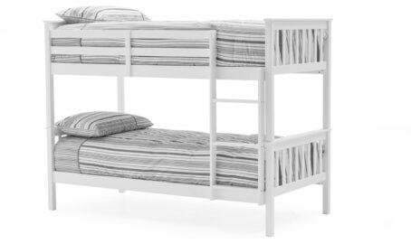 Jaylam Bunk Bed White - Single