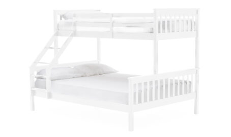 Jaylam Bunk Bed White - Double