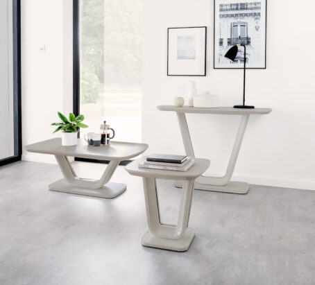 Lazio Table Collection - Taupe