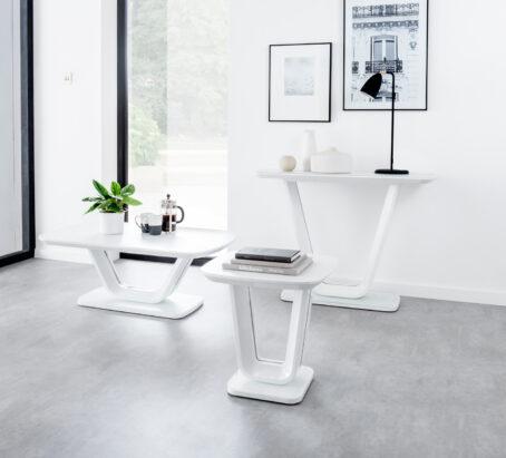 Lazio Table Collection - White
