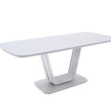 Lazio Modern DIning Extension Table - White