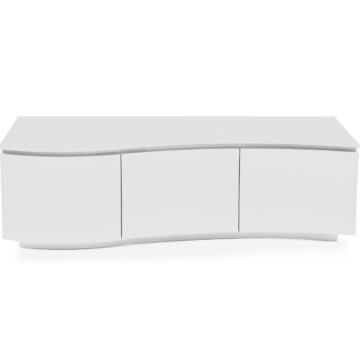 Lazio Glass TV Unit White