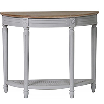 Coventry Half Moon Console Table