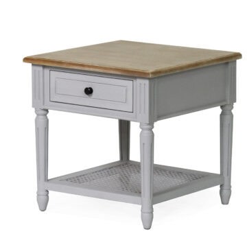 Coventry Grey Lamp Table
