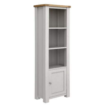 Swansea Grey Oak Tall Bookcase