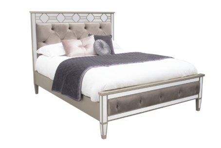 Luxury Mirrored Bed