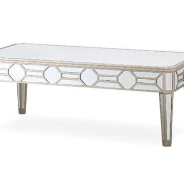 Versaille Silver Mirrored Coffee Table